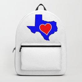 Love Heart Texas Backpack