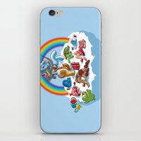 my little pony iPhone & iPod Skins featuring My Little Pony Keg by mike reisel