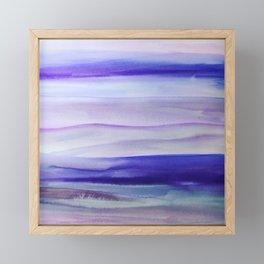 Purple Mountains' Majesty Framed Mini Art Print