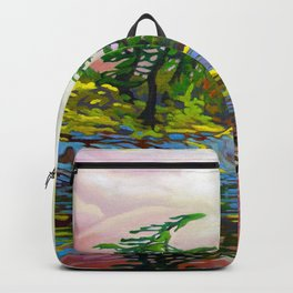 Wind Sculpture by Amanda Martinson Backpack