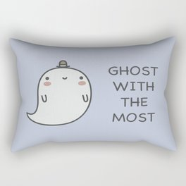 Ghost With The Most Rectangular Pillow