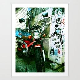 harajuku bike Art Print