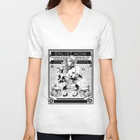 propaganda V-neck T-shirts featuring Stormtrooper Propaganda by chokidokii