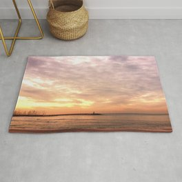 Sunset on the Harbor Rug