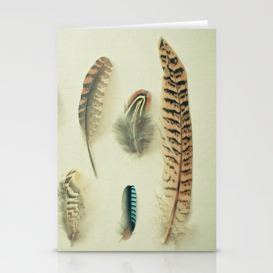 The Feather Collection Stationery Cards