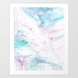 Dissipated Art Print