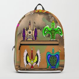"Native American Waterbirds ""Of All Color"" Backpack"