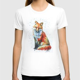 FOX 2 watercolor T-shirt