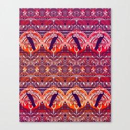 Peacock Patterm Canvas Print