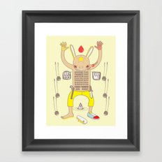 ENVY YOU ENVY ME ! Framed Art Print