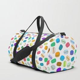 Macaron Pattern Duffle Bag