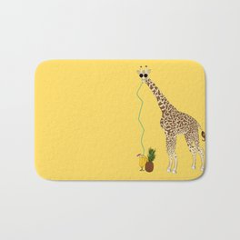 Cool Giraffe Bath Mat