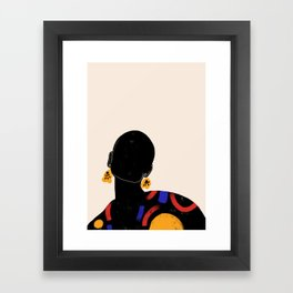 DAMA Framed Art Print