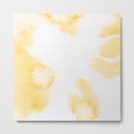 Watercolor abstract patterns that do not exist.Actually there are many color patterns.No.69 Metal Print