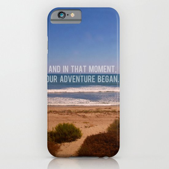 And In That Moment, Our Adventure Began iPhone & iPod Case