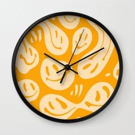 Liquify Honey Wall Clock