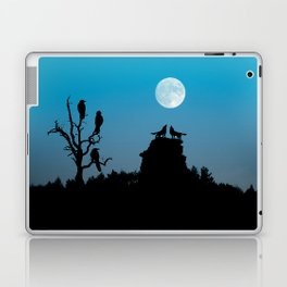 Wolves and crows Laptop & iPad Skin