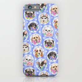 Lacy Dogs iPhone Case