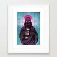 sith Framed Art Prints featuring Holy Sith by That Design Bastard