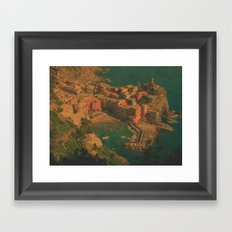 Vernazza, Italy Framed Art Print