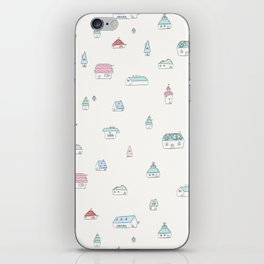 Little Houses iPhone Skin