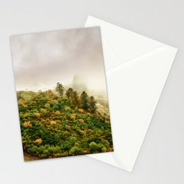 Autumn valley in the cloud Stationery Cards