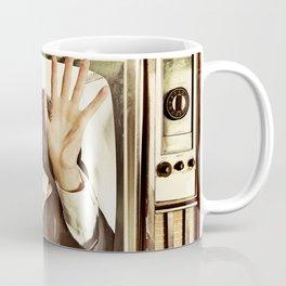 Man trapped in TV Coffee Mug