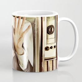 Man trapped in TV Coffee Mug