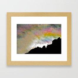 Smiling Sunrise Framed Art Print