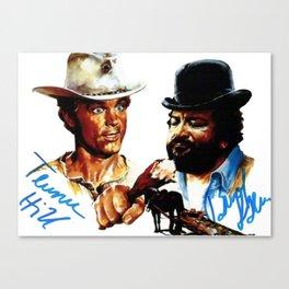 Bud e Terence Canvas Print