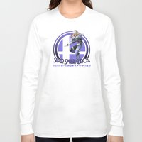 super smash bros Long Sleeve T-shirts featuring Sheik - Super Smash Bros. by Donkey Inferno