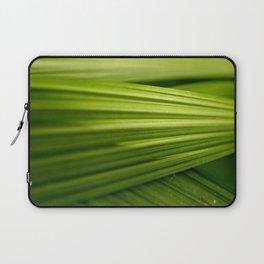 Green Leaf Laptop Sleeve