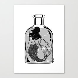 Wish I could be part of your world Canvas Print
