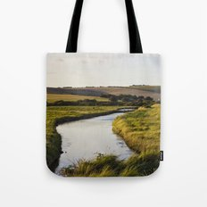 Cuckmere river Tote Bag
