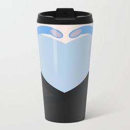 Shran - Minimalist Star Trek: Enterprise - Minimalism - startrek - Andorian - trektangle - trektangl Travel Mug