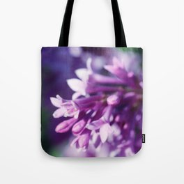 Lilacs close up Tote Bag