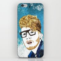 gorillaz iPhone & iPod Skins featuring Daley by ComfortComfort