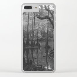 Florida Swamp Clear iPhone Case