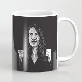Woman Fed Up, Angry and Stressed Out Coffee Mug