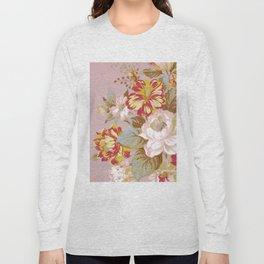 Soft Vintage Floral Long Sleeve T-shirt