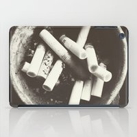 cigarettes iPad Cases featuring cigarettes by Sushibird