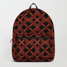 Refined Wood Abstract Background Backpack