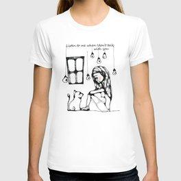 """""""Ascoltami quando non ti parlo"""" T-shirt"""