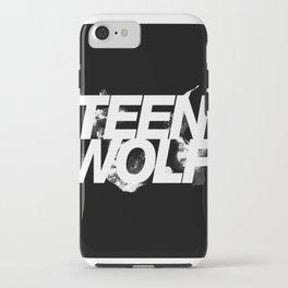 tw white iPhone Case
