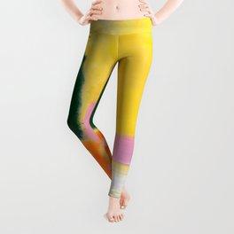 Mark Rothko - No 16 / No 12 (Mauve Intersection) Artwork Leggings
