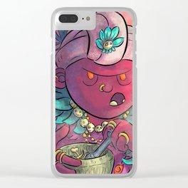 Voodoo Queen Clear iPhone Case