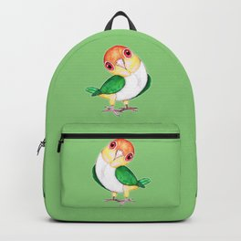 White bellied caique Backpack