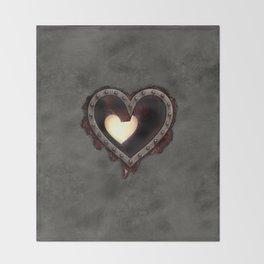 Heartless Throw Blanket