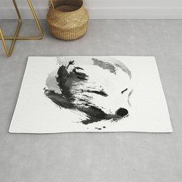 White Fox Rug