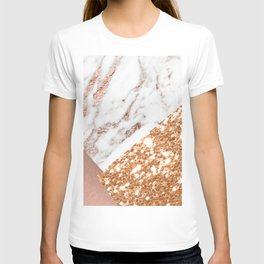 Layers of rose gold T-shirt